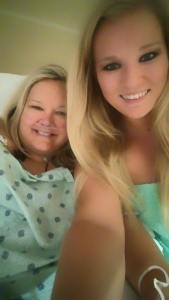 Sheri Kaye Hoff, her daughter Sonja, hours after coming off the ventilator #healing #miracles #nde https://wp.me/p71qJb-cJ