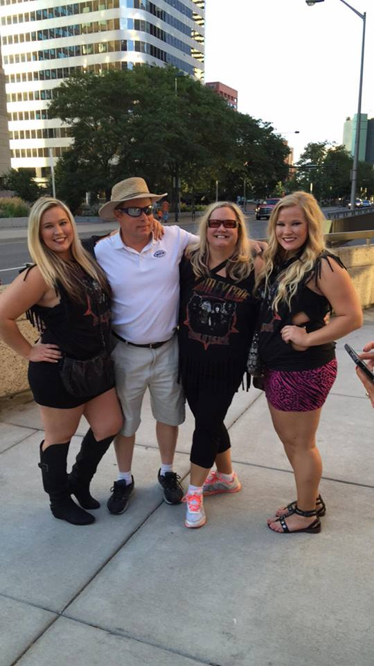 Sheri Kaye Hoff and Family at Motley Crue After nearly dying #healing #mindset #miracles https://wp.me/p71qJb-cJ